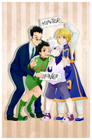 Hunter x Hunter by AmyFawkes