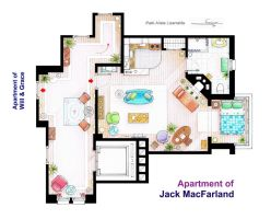 Jack MacFarland's apartment from 'Will and Grace' by nikneuk