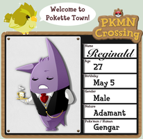 PKMNCrossing: Reginald by Spoonzmeister