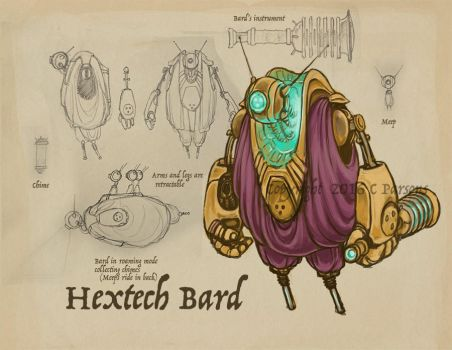 Bard Skin Concept by dxtor