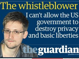 Edward Snowden, Whistleblower by xxWeAreAnonymousxx
