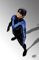 Nightwing by bassisnyazed