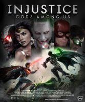 Injustice Movie Poster by Bryanzap