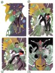 Green Lantern Corps Layouts by manapul