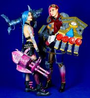 Jinx and Vi by XeniaPolarStern