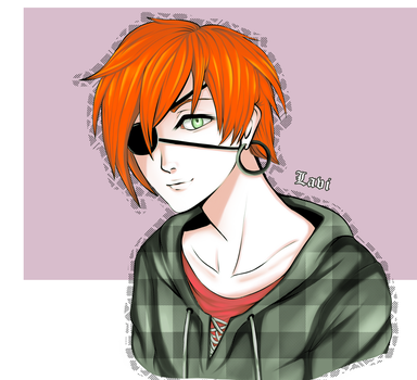 Lavi from D.Gray-man by fob-love-panic