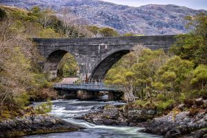 Highland Bridge by Spyder-art