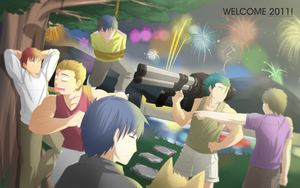 Welcome 2011 by zephleit