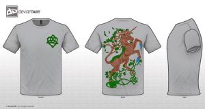 Mythical Creature T Shirt Entry I by KaiaTheFox