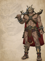 Shao Kahn (Mk vs DC) Updated by deexie