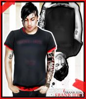 frank iero vexel by visual-sick