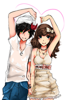 CM: TinierMe Couple by Aii-luv