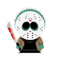 Jason Voorhees In South Park by SpiderMatt512