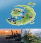 Glintadale Island : Map and attractions by wang2dog