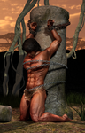 Tarzan in chains by JungleCaptor