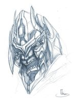movie Megatron head rough by zgul-osr1113