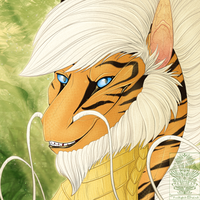 Icon Comish - Eastern Wisdom by TwilightSaint