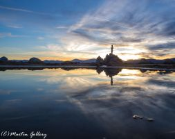 Sand Harbor sunset150530-19 by MartinGollery