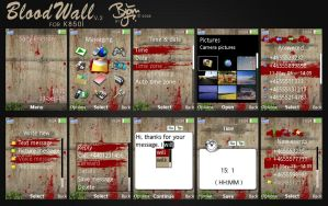 BloodWall-Theme v2 for K850i by bschulze