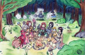 Reunion in the forest DL Color by Martiss