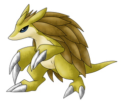 DA Pokemon Collaboration : Sandslash by AR-ameth