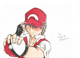 Red, the best trainer ever ! by Setsky