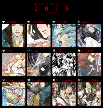 Summary 2015 by wickedalucard