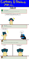 Ask the Explorers of Shadows 2 [Part 1] by Quilaviper