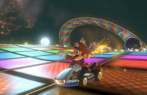 N64 Rainbow Road from Mario Kart 8 by DigiBowser