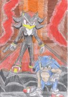 STH Intro - Shadow and Sonic by JCMX