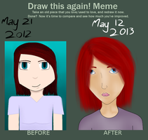 Draw this again meme 2 by PlungedintoLight7