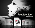 Preview replacement icon by Gpopper