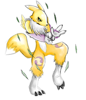 Renamon by BushidoBegus