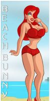Beach Bunny Jessica by hpkomic