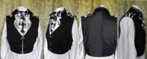 Steampunk inspired waistcoat PCW14-6 by JanuaryGuest