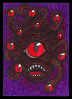 Beholder ACEO 50 by Siobhan68