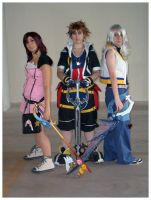 Kingdom Hearts 2 again by lilie-morhiril