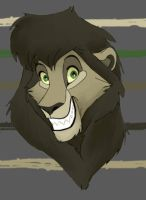 lion male character by silver-dog