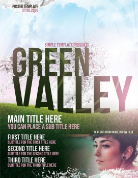 GreenValley PSD Template by 7styles