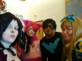 Welcome to Wonderland, we duckface with Night Wing by SasuInsanity