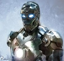 Iron Man by Bowkl