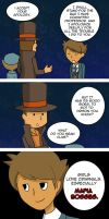 Professor Layton - LIKE A BOSS by aaamaaa