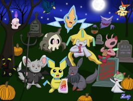 Pokemon Halloween Roam (Special) by Rose-Beuty
