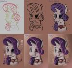 Rarity Tutorial by azuh