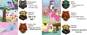 My Little Ponies Friendship is Magic: Sorting Hat by RoseInARamuneBottle