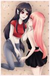 Marcy and PB by viliann