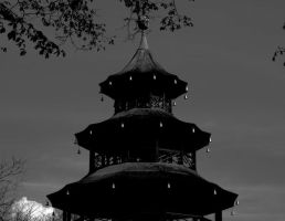 Chinese Tower by NeonHaystack