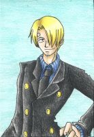 Blackleg Sanji by martylovespinkfloyd