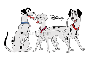 102 Dalmatians Grown Up by Aspendragon
