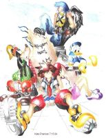 kingdom hearts by ParanoidPerson